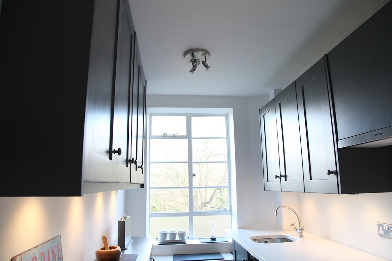 Modern Galley Kitchen – Woodfella